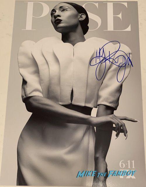 MJ Rodriguez signed autograph pose season 2 poster