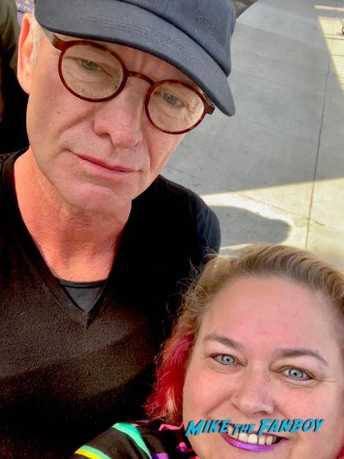 sting with fans signing autographs after the last ship 0000
