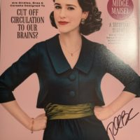 Rachel Brosnahan signed autograph the marvelous mrs maisel poster cosmopolitan magazine cover in person