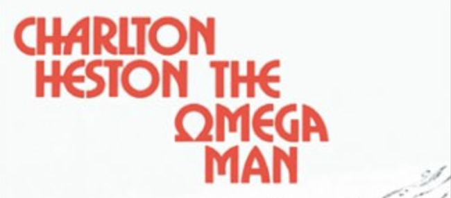 The Omega Man movie poster charlton Heston