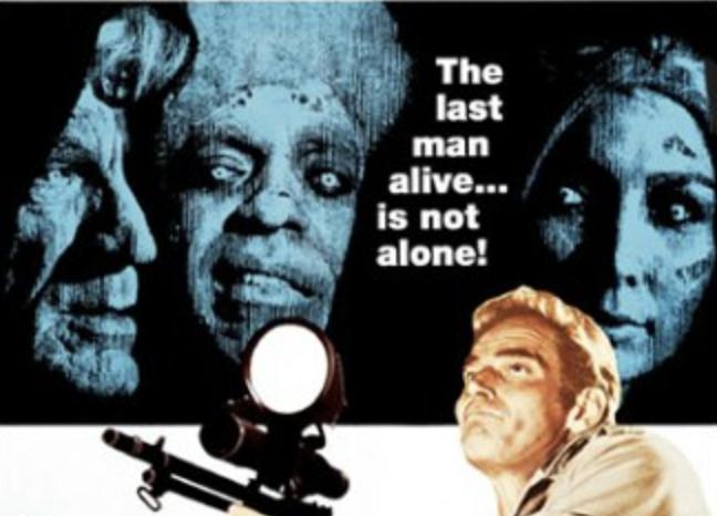 The Omega Man movie poster charlton Heston