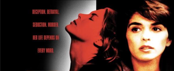 Whispers In The Dark movie poster logo
