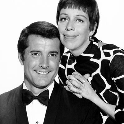 THE CAROL BURNETT SHOW, Lyle Waggoner, Carol Burnett, 1967-78