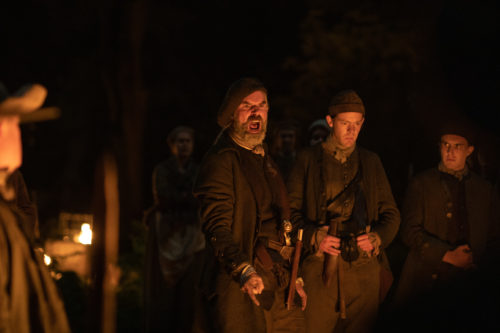 Duncan Lacroix as Murtagh Fitzgibbons - Outlander courtesy of Starz