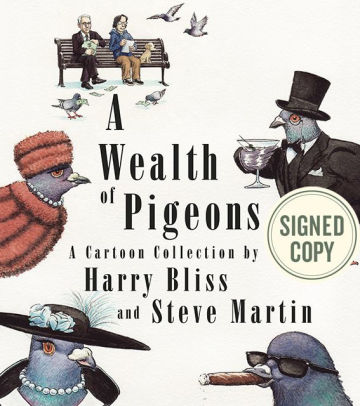 steve martin signed book