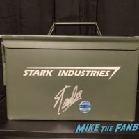 Iron man prop ammo box signed by stan lee 0000