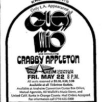 guess who crabby appleton