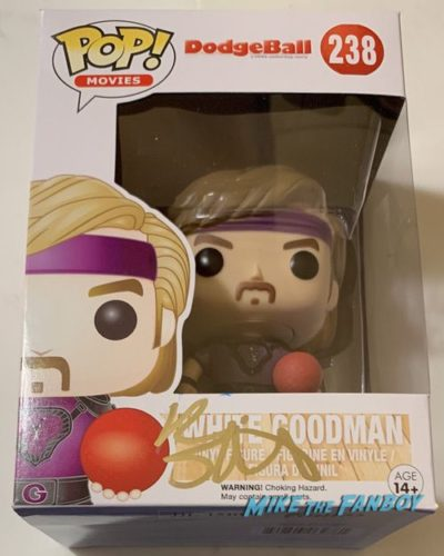 Ben Stiller Signed Autograph Dodgeball Dwight Goodman funko pop