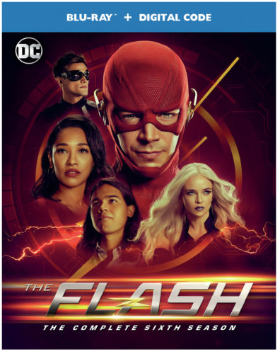THE FLASH: THE COMPLETE SIXTH SEASON blu ray