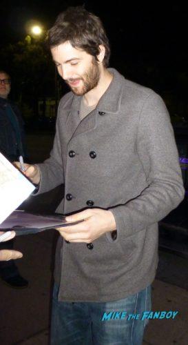 Jim Sturgess with fans autograph signed 0000