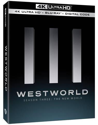 Westworld season three blu ray box art