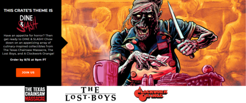 Loot crate lost boys Dine and Slash