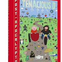 Jack black signed book tenacious d
