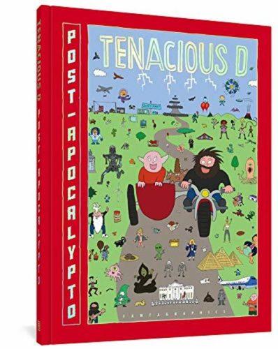 Jack black signed book tenacious d
