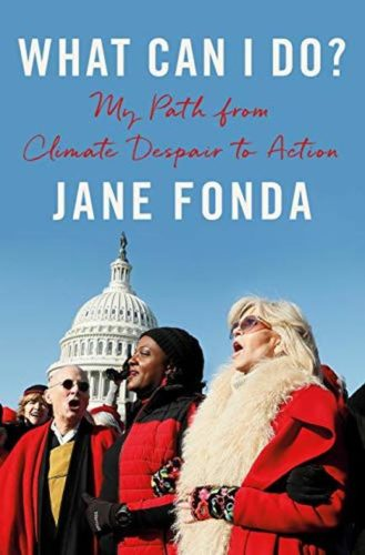 Jane Fonda signed autograph book