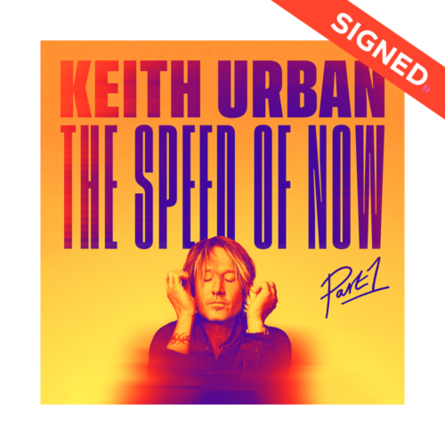 keith urban signed cd