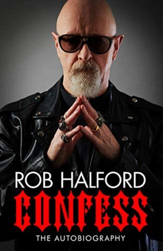 rob halford signed book