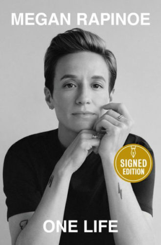 megan rapinoe signed book autograph